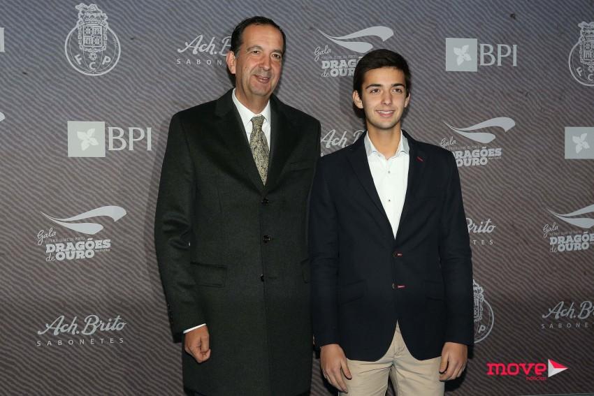 Nuno Cardoso com o filho, Nuno