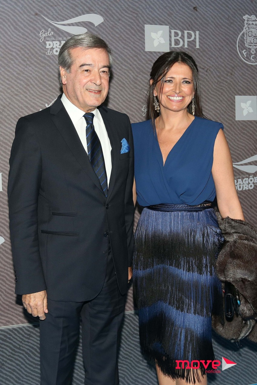 Fernando Gomes e a mulher, Geraldina