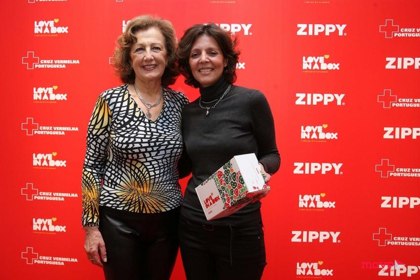 Cristina Louro e Ana Raquel Oliveira, diretora de marketing da Zippy