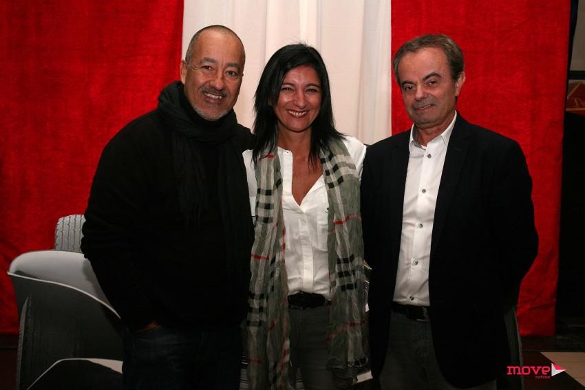 Pedro Calhamar, Sandra Calhamar e Cesário Pinto