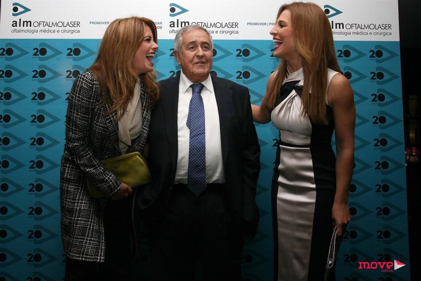 Nicolau Breyner com Bárbara Guimarães e Ana Rita Clara