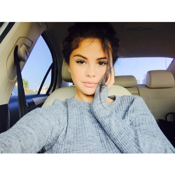 7º Selena Gomez