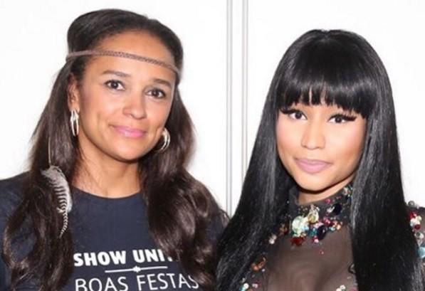 Isabel Dos Santos Conheceu Nicki Minaj MoveNotcias