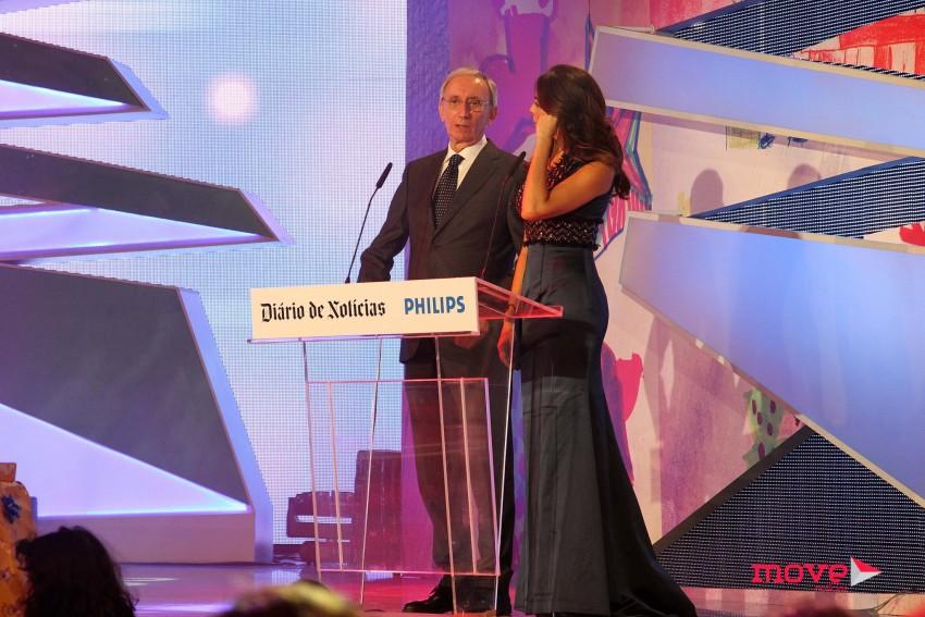 Júlio Isidro e Catarina Furtado