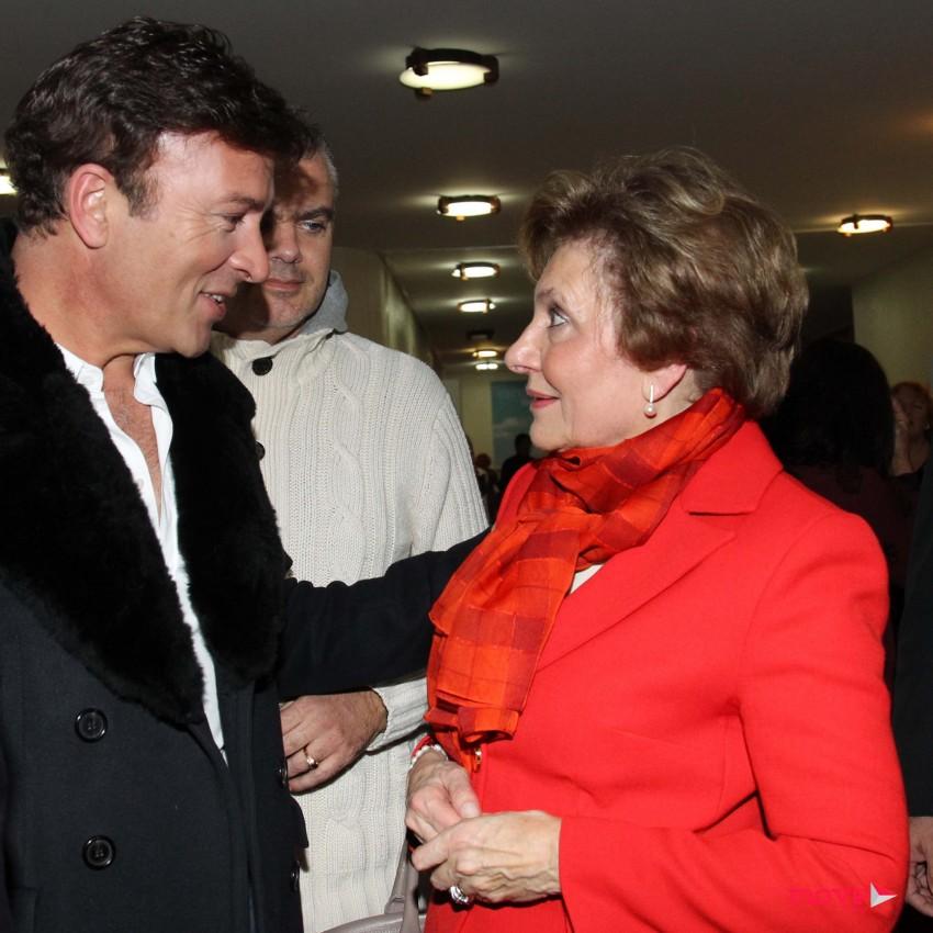 Tony Carreira e Maria Cavaco Silva