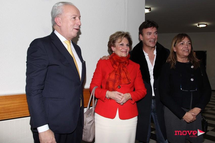 Pedro Santana Lopes, Maria Cavaco Silva e Tony Carreira