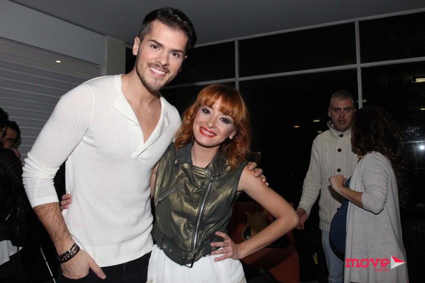 Mickael Carreira e Marisa Liz