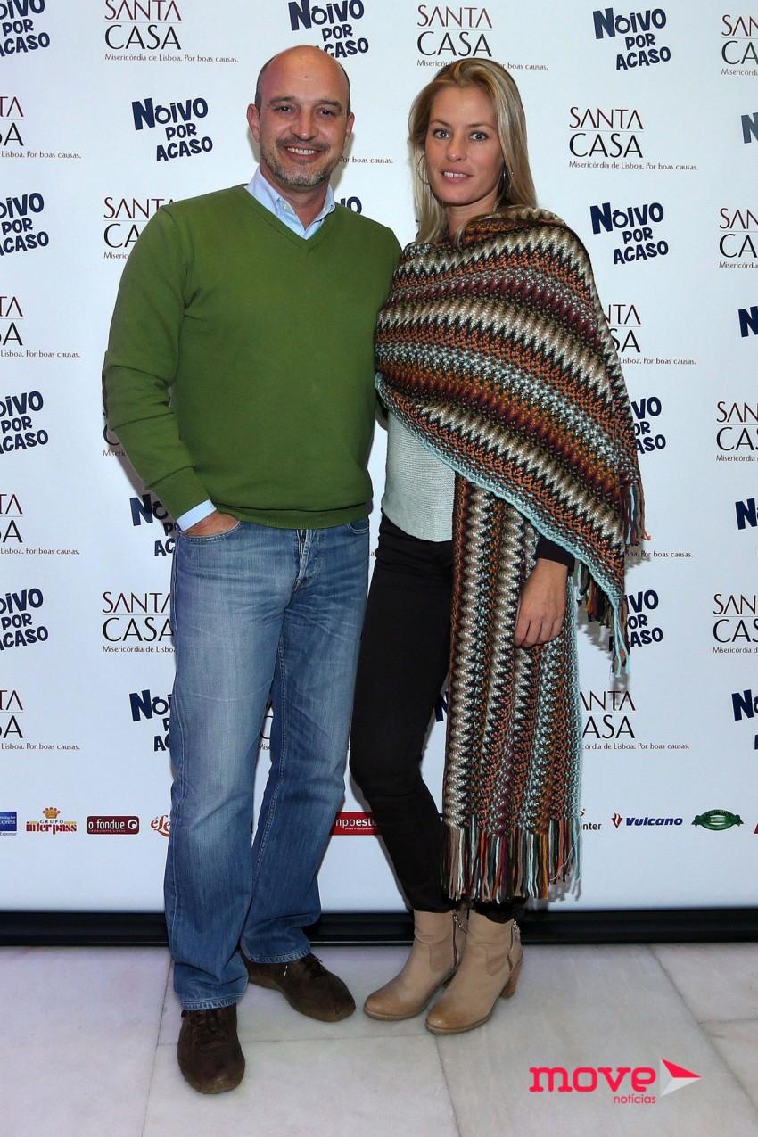 Nuno Graciano e Bárbara Elias
