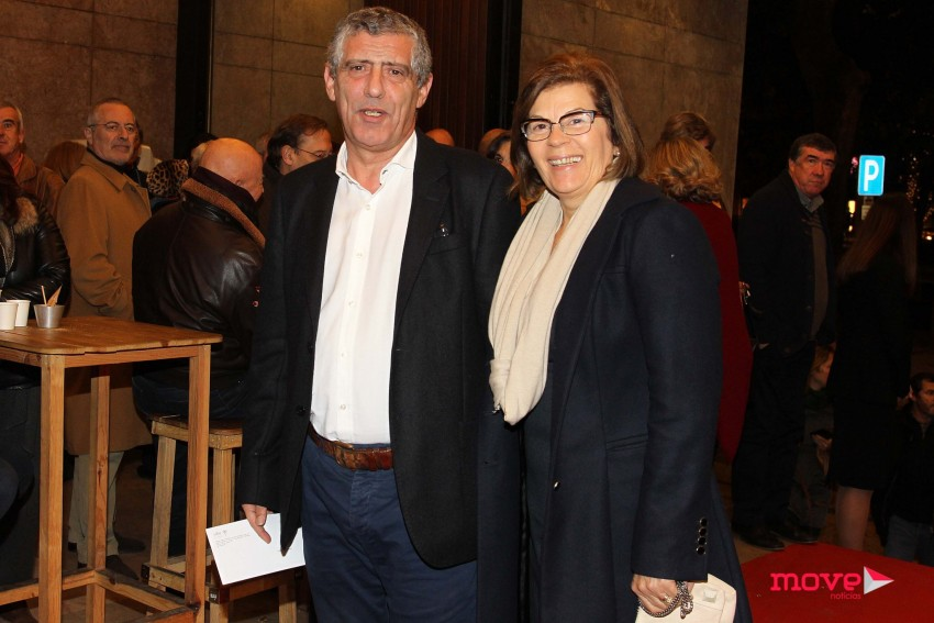 Fernando Santos e a mulher, Guilhermina