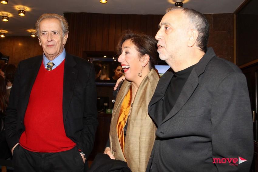 António Pedro Vasconcelos, Patrícia Vasconcelos e Tino Navarro