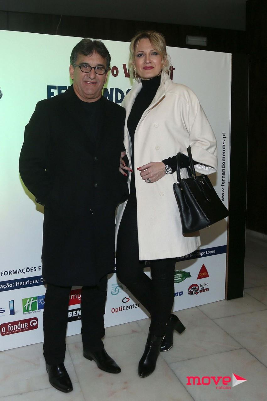 Zezé Camarinha e Tatiana
