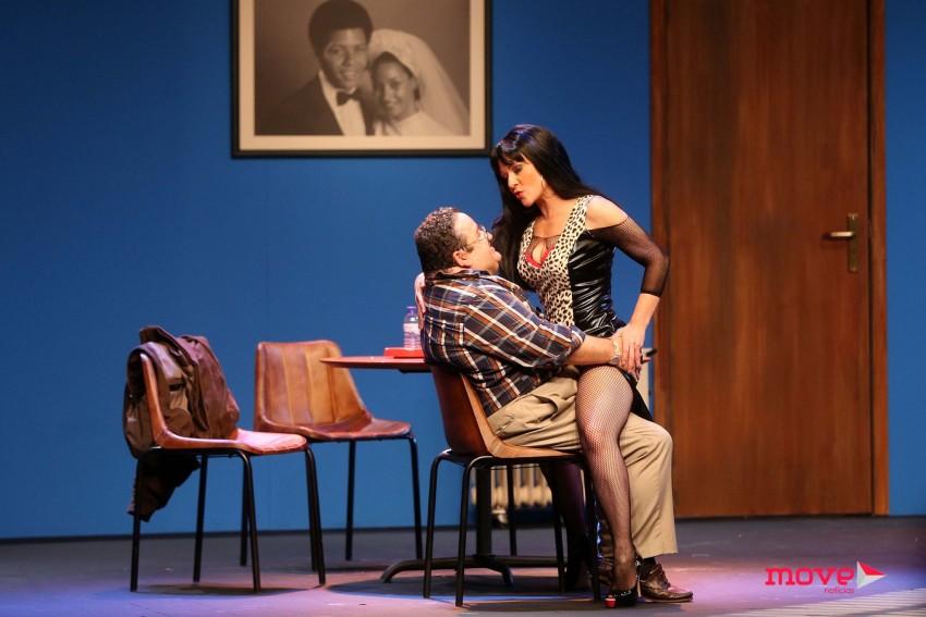 Fernando Mendes com Carla Andrino