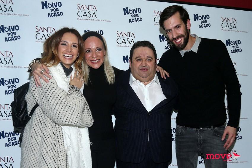 Marta Andrino, Carla Andrino, Fernando Mendes e Frederico Amaral