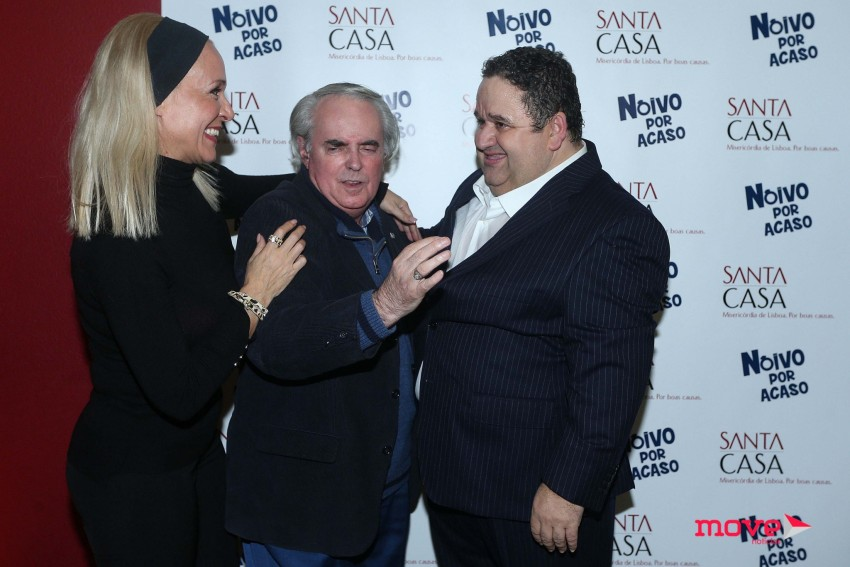 Marta Andrino, Óctavio de Matos e Fernando Mendes