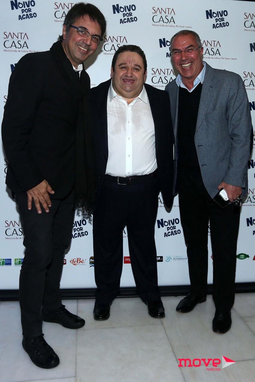 Fernando Pereira, Fernando Mendes e Inácio