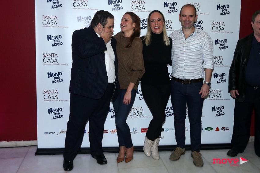 Fernando Mendes, Patrícia Tavares, Carla Andrino e Jorge Mourato