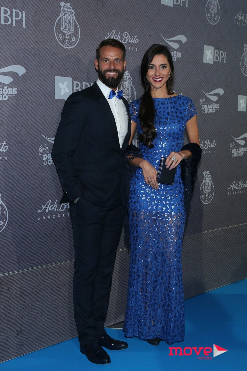 Pedro Guedes e Kelly Baron