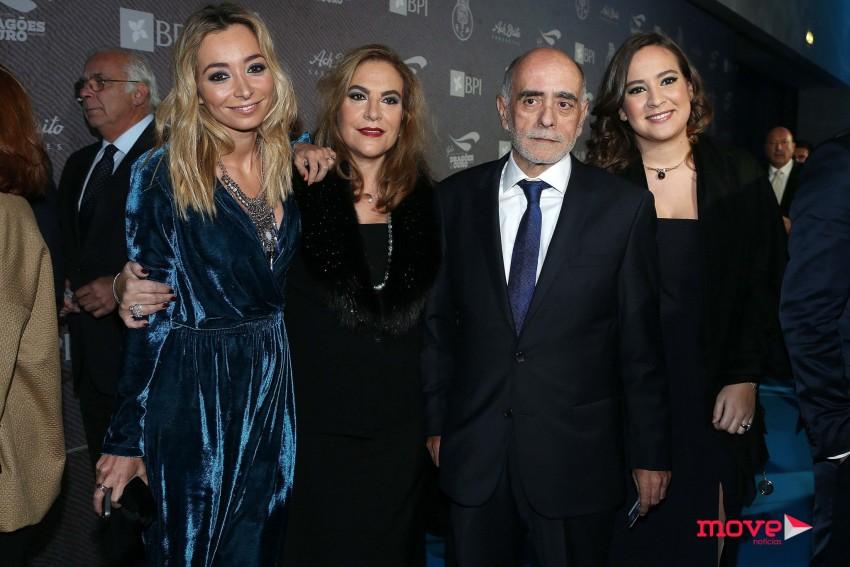Carina Caldeira, Helena Caldeira, Adelino Caldeira e Miguela Caldeira