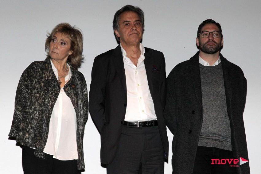 Ana Zannati, Virgílio Castelo e Nuno Lopes