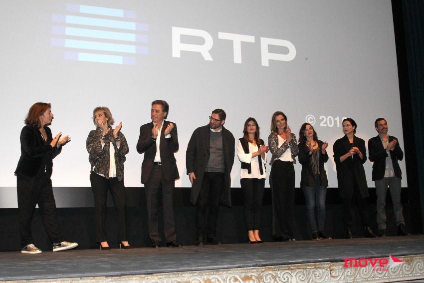 O elenco da série