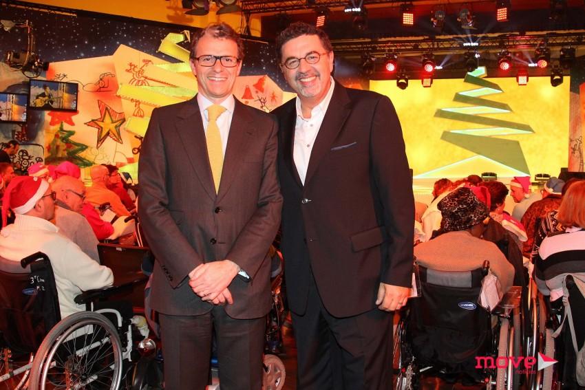 Gonçalo Reis, presidente da RTP, e José Carlos Malato