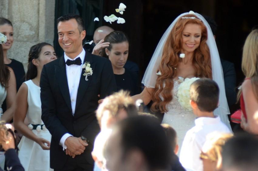 """Jorge Mendes e Sandra Mendes disseram o """"sim"""" na Invicta em agosto."""
