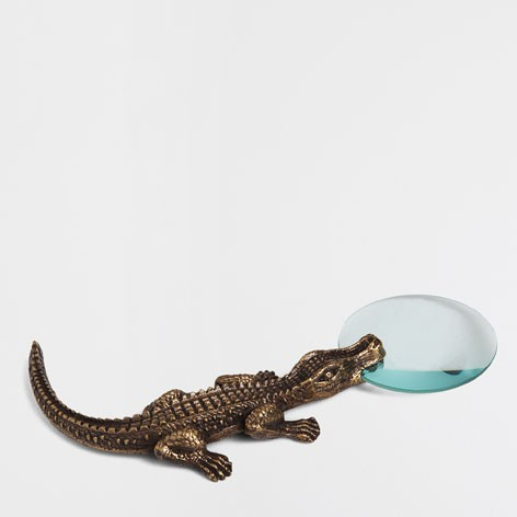 Lupa Decorativa Cabo Crocodilo da Zara Home 29,99 euros