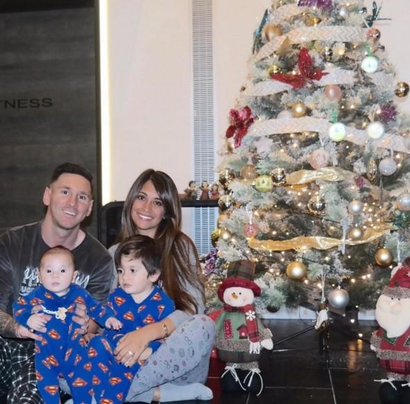 Messi foi pai de mais um menino: Mateo.