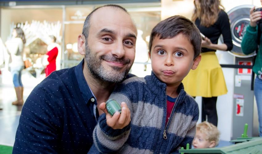 Rui Unas e filho