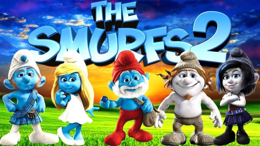 """Filme """"Smurfs 2"""", dia 25 de dezembro, às 15h45, na SIC."""
