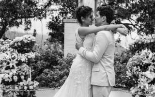 Os atores Sophie Charlotte e Daniel Oliveira oficializaram a relação no Rio de Janeiro em dezembro.