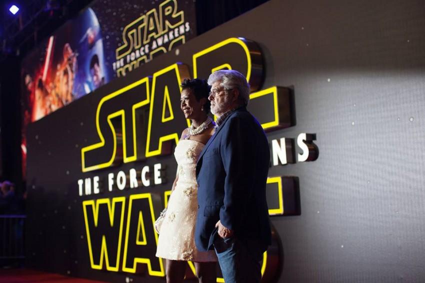 George Lucas e Mellody Hobson