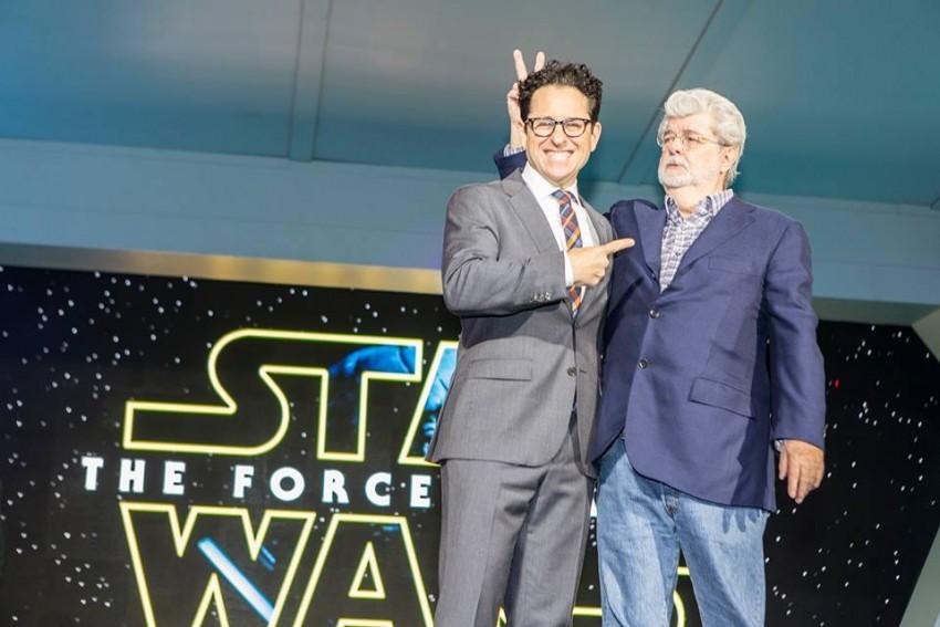 J.J. Abrahams e George Lucas