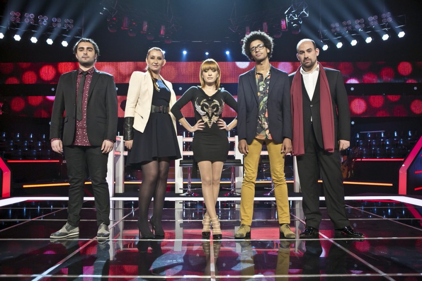 The voice tira teimas11