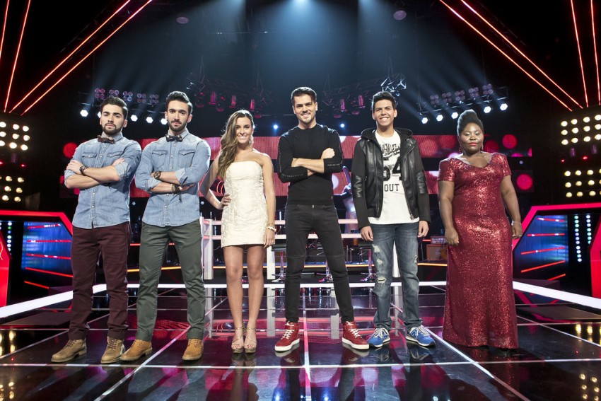 The voice tira teimas16