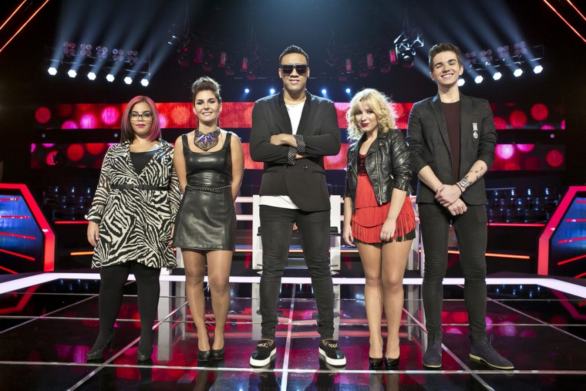 The voice tira teimas6