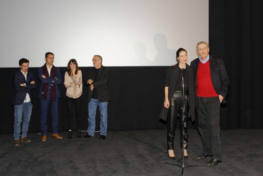 O elenco e realizador do filme marcaram presença na antestreia