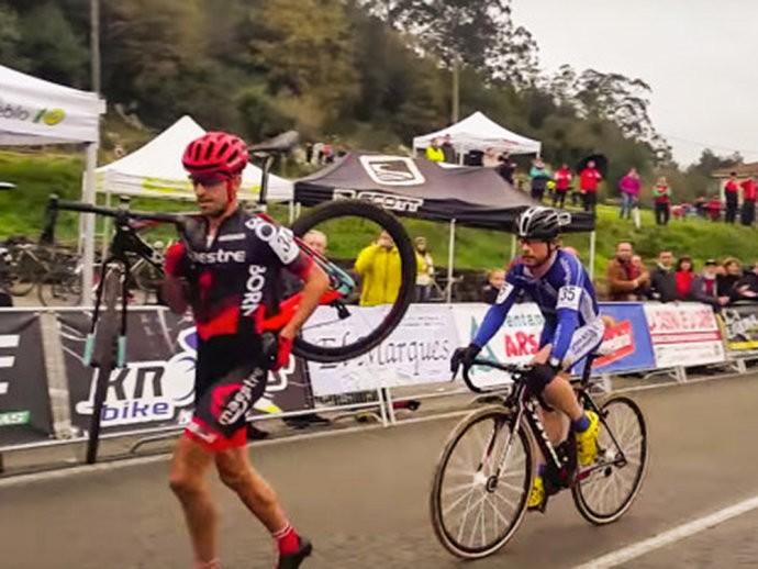 ciclista video