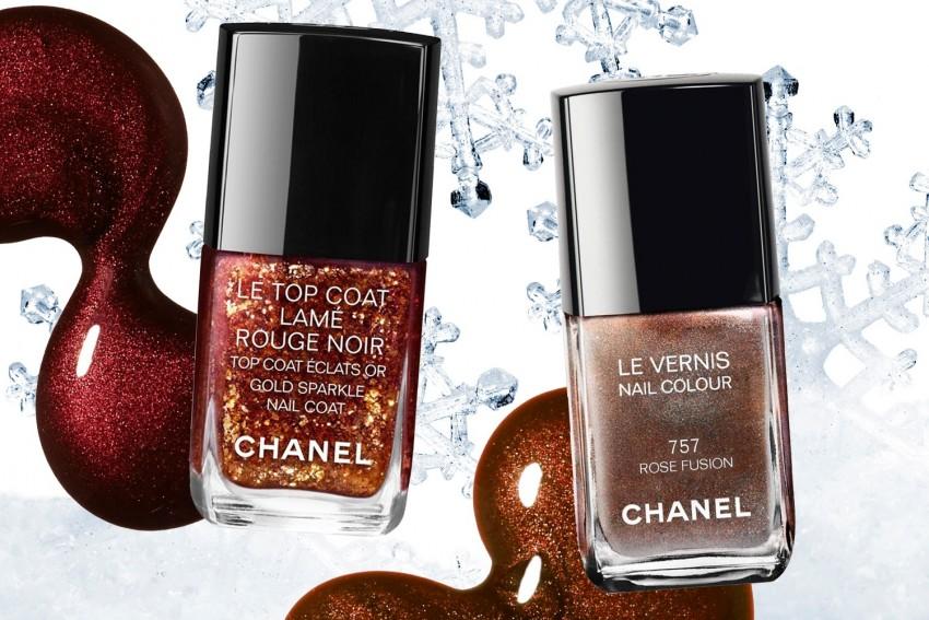 A coleção Vamp Attitude, da Chanel: Gold Sparkle e Rose Fusion (27 dólares)