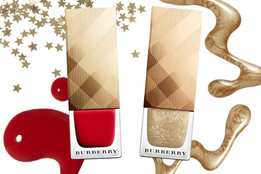 Military Red e Festive Gold, as novidades natalinas da Burberry (23 dólares)
