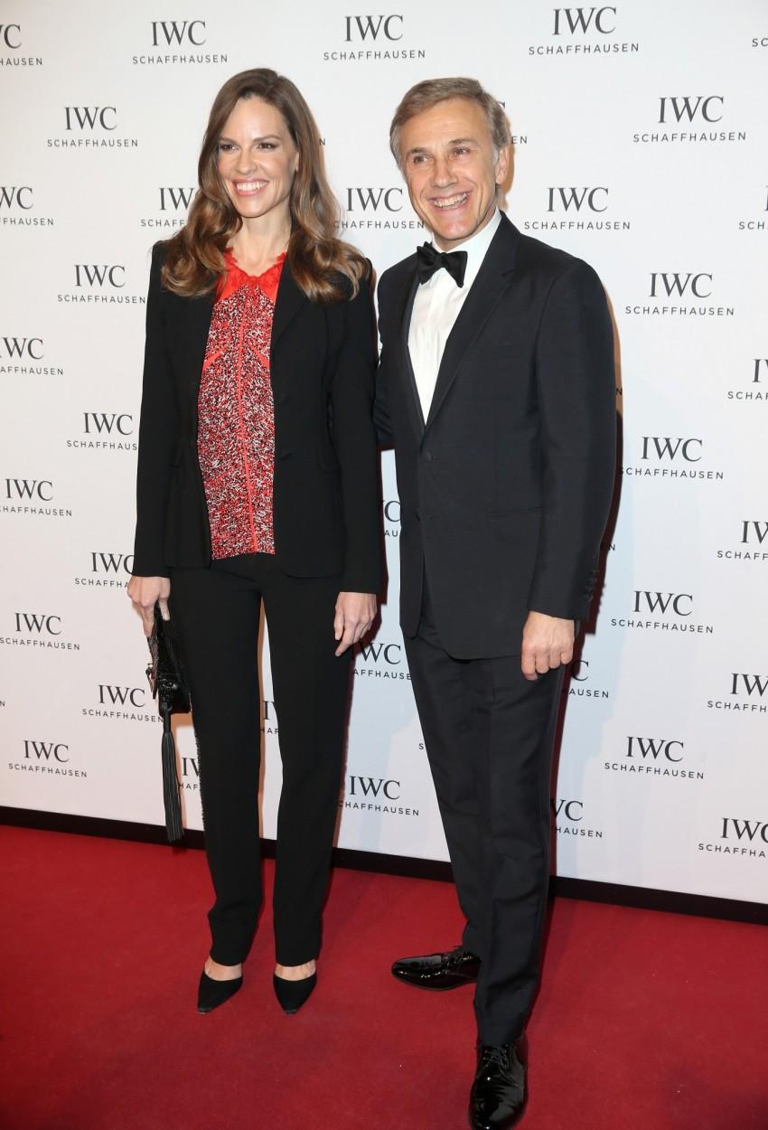 Hilary Swank e Christoph Waltz