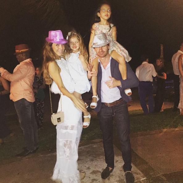 André Villas Boas com a família