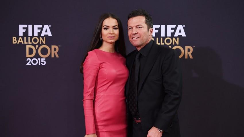 Lothar Matthaeus e Anastasia Klimko