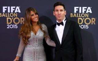 Messi e Antonella Roccuzzo