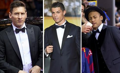 Cristiano Messi Neymar