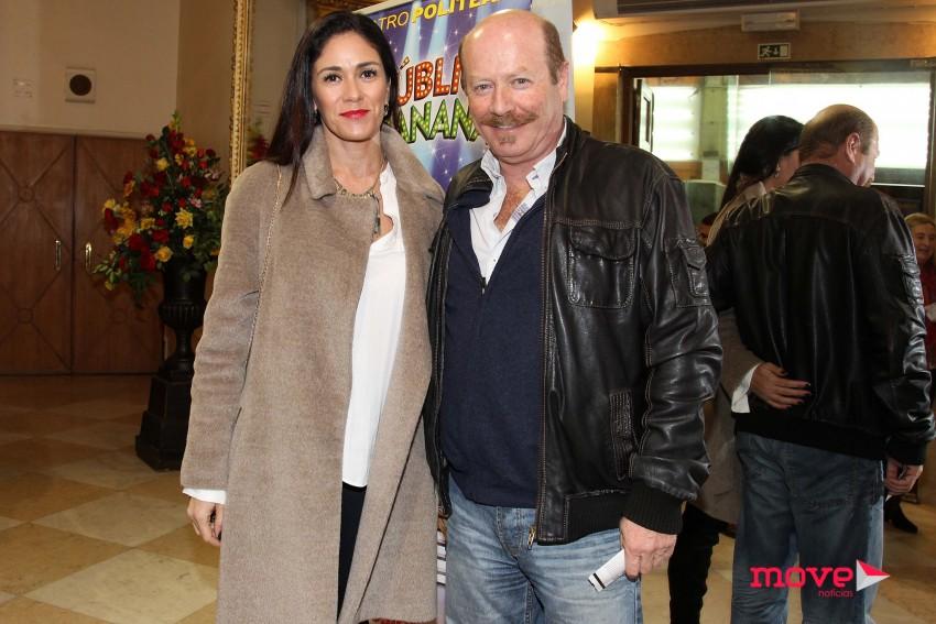 Luís Esparteiro e a mulher, Vanda