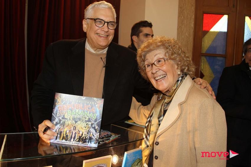 Filipe La Féria e Manuela Maria