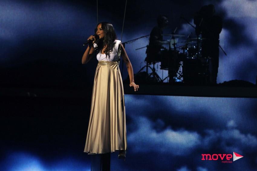 "Soraia Tavares interpretou ""I believe i can fly"""