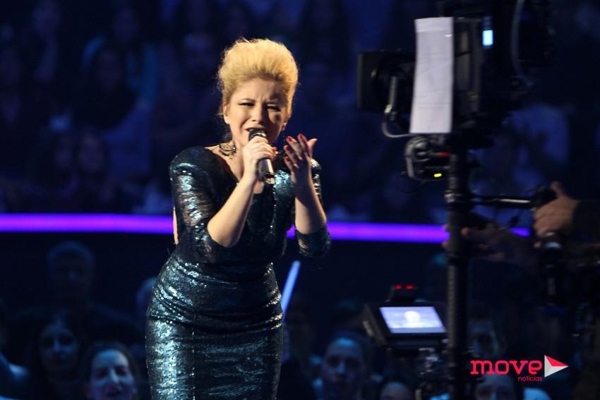 "Joana Melo cantou ""Chuva"""