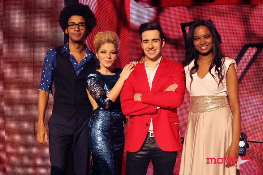 Alfredo, Joana, Guilherme e Soraia foram eliminados na semifinal.